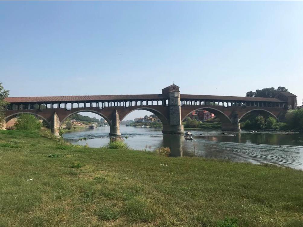 Ponte Coperto di Pavia - La via francisca