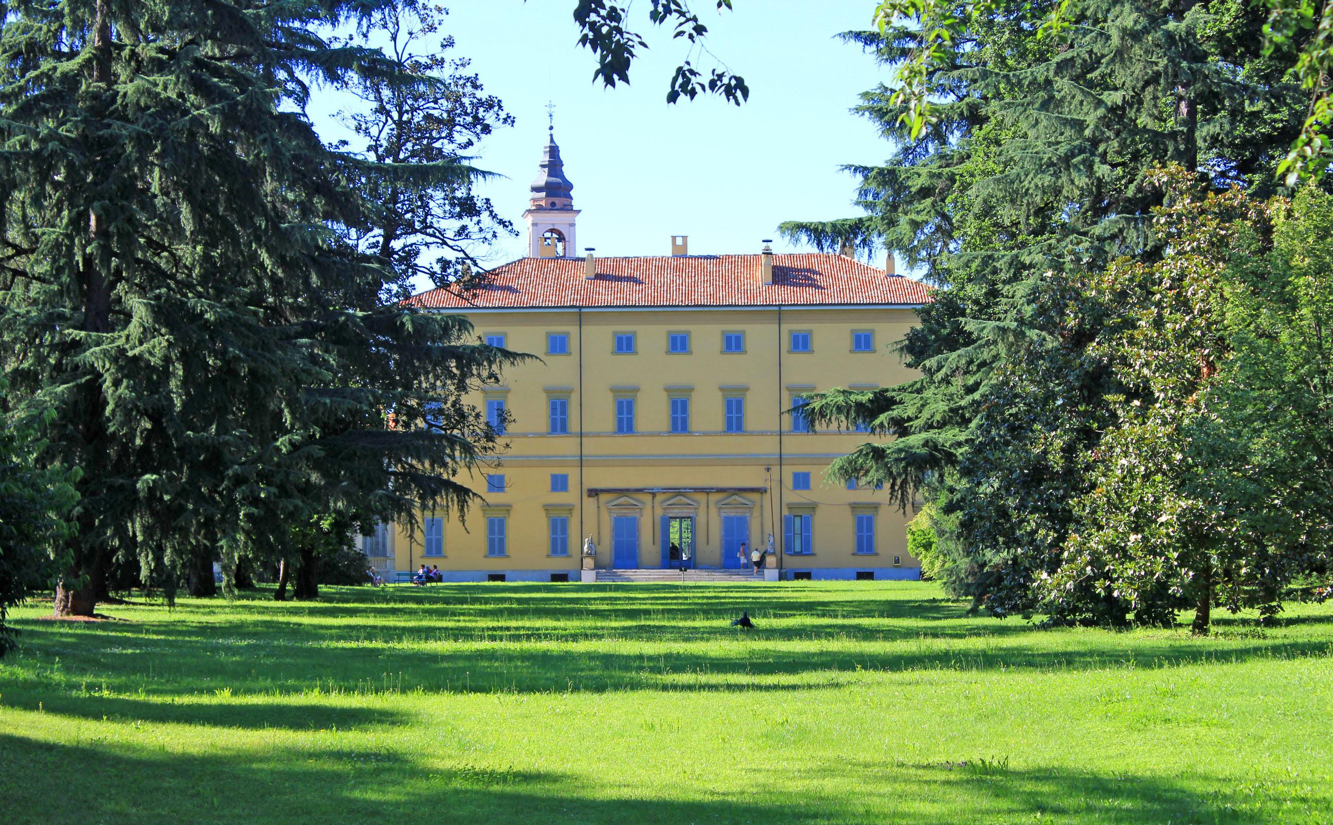 Villa Annoni di Cuggiono - La via Francisca