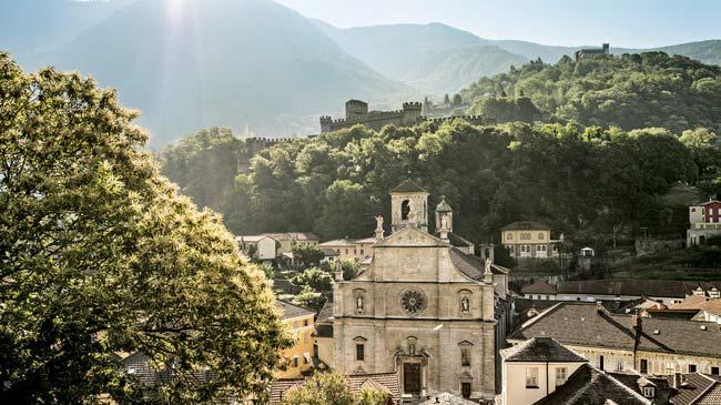 Bellinzona - La via Francisca