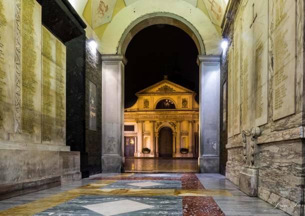 Basilica di San Vittore - La via Francisca