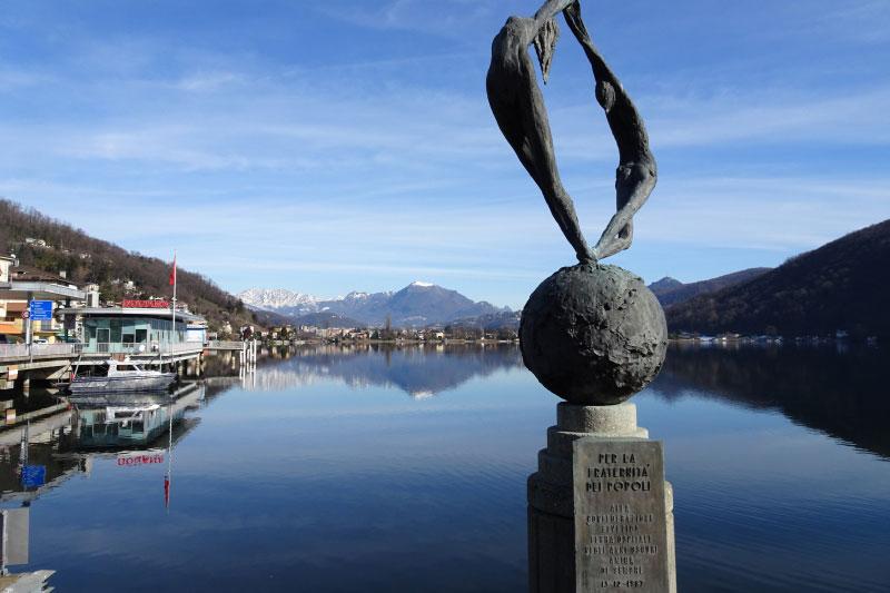 Tappa 1 Ponte Tresa Lago di Lugano
