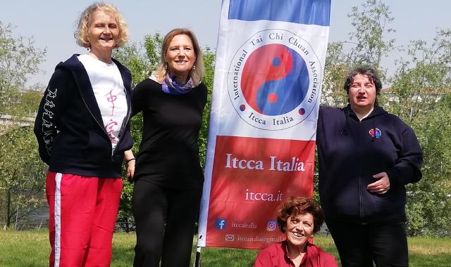 La Via Francisca e la via del Tai Chi della Scuola Itcca Italia, scorrono parallele in diversi punti del versante italiano: da Lavena Ponte Tresa a Pavia.